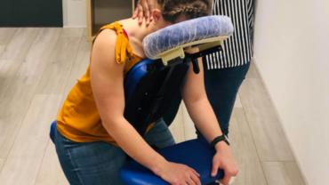 Massage assis bien être
